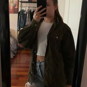 American Eagle oversized jacket